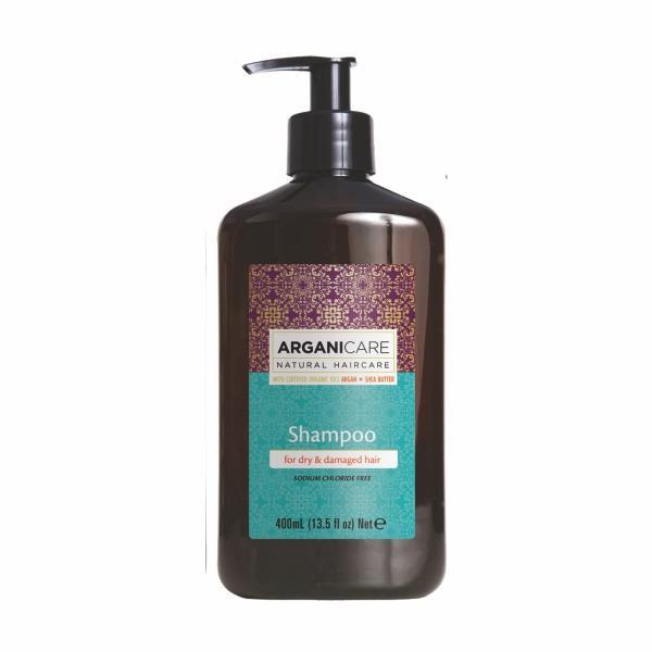 Шампунь для сухих и повр волос с аргановым маслом