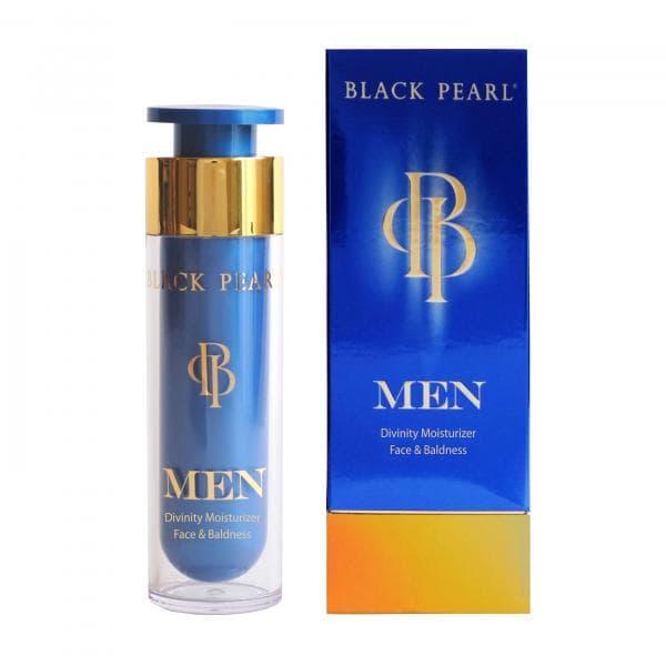 Мужской увлажняющий премиум-крем для лица - Black Pearl Men Divinity Moisturizer Face & Baldness